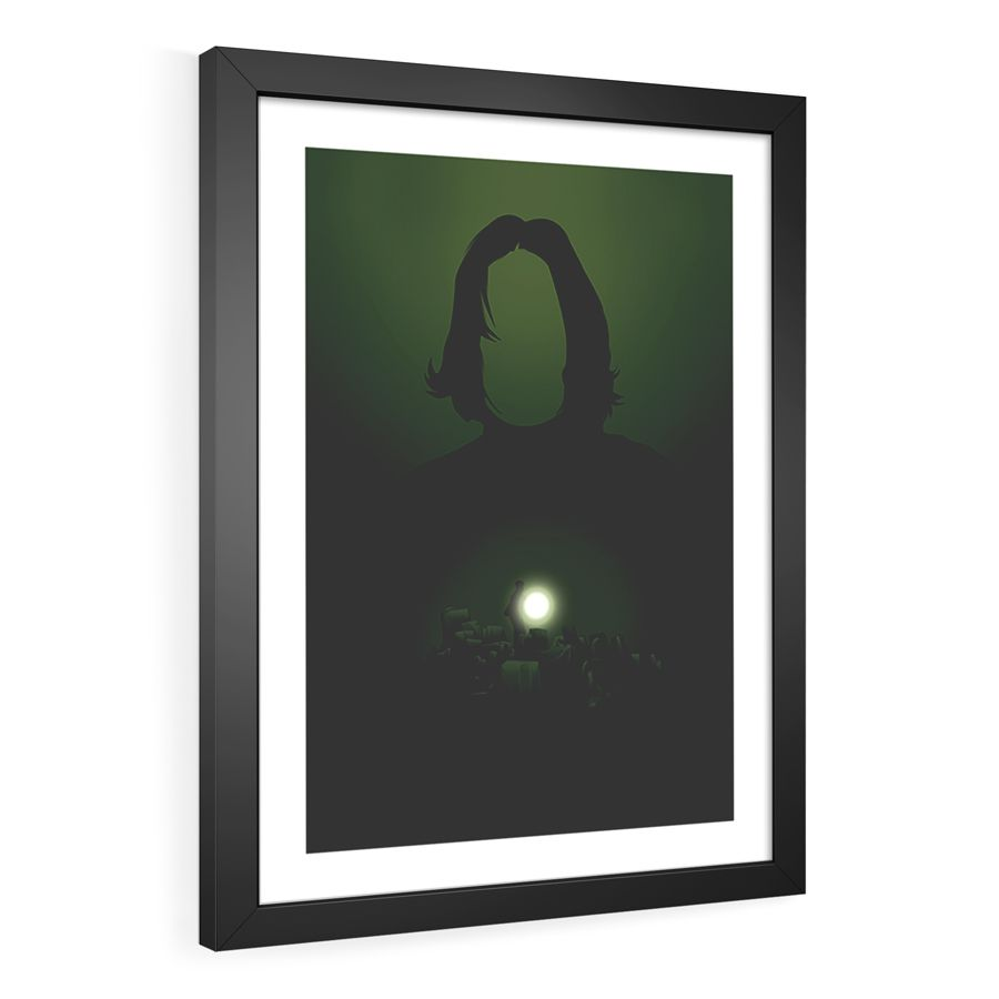 QUADRO DECORATIVO ENIGMA DO PRÍNCIPE | HARRY POTTER  - Pôster no Quadro