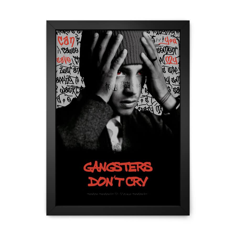 QUADRO DECORATIVO GANGSTERS DON
