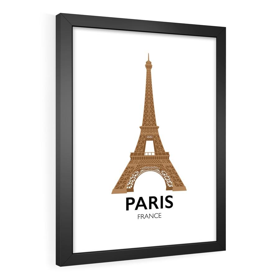 QUADRO DECORATIVO PARIS  - Pôster no Quadro