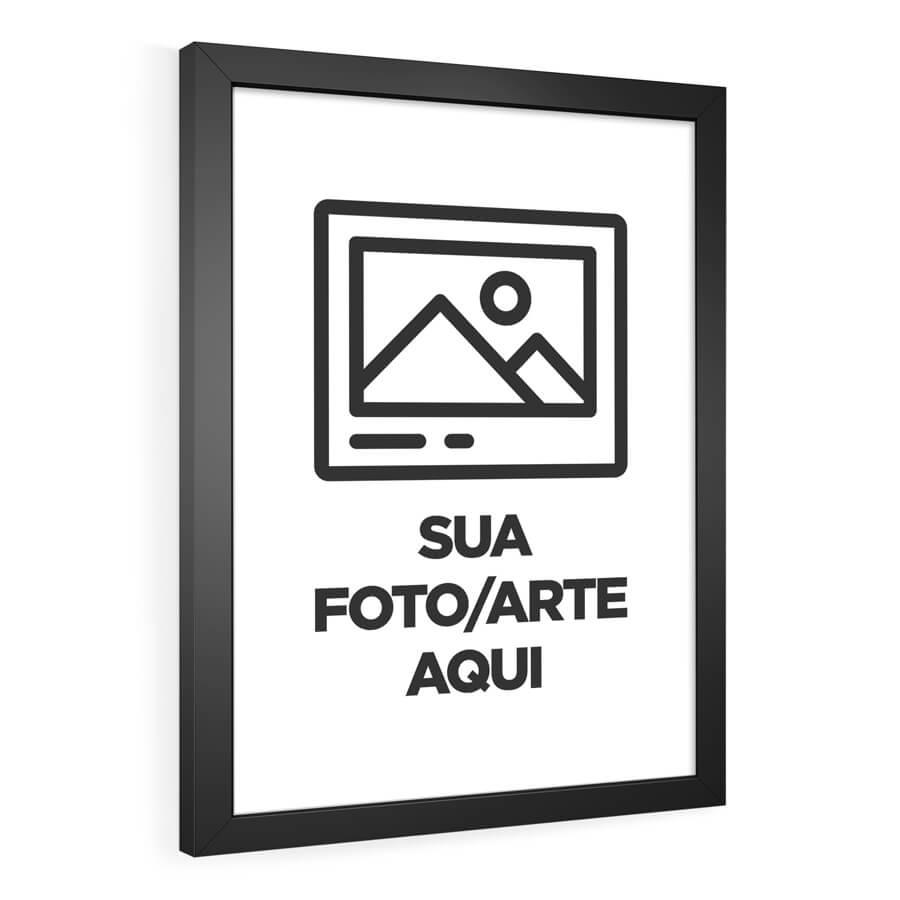 QUADRO DECORATIVO PERSONALIZADO  - Pôster no Quadro