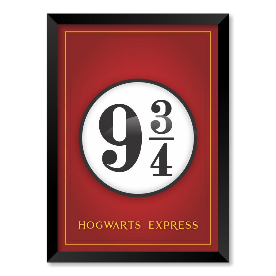 QUADRO HOGWARTS EXPRESS| HARRY POTTER