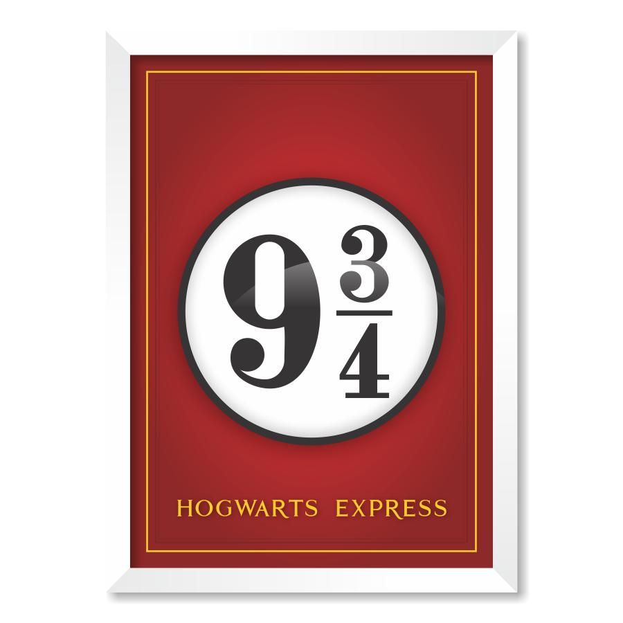 QUADRO HOGWARTS EXPRESS| HARRY POTTER  - Pôster no Quadro