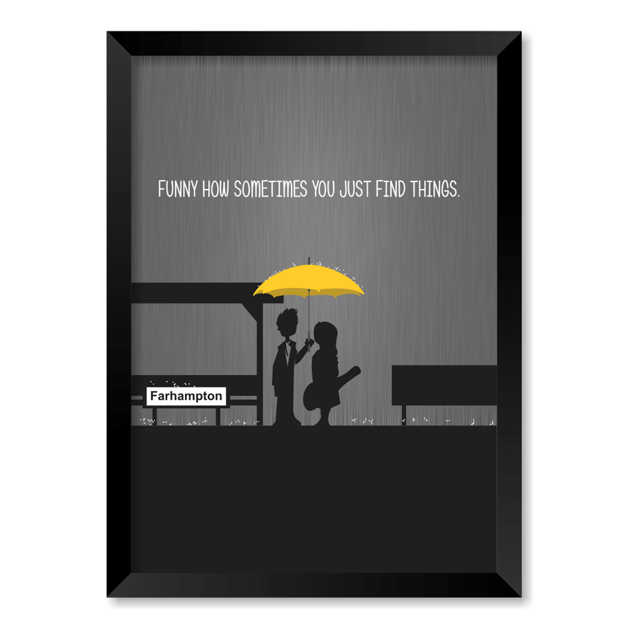 QUADRO HOW I MET YOUR MOTHER  - Pôster no Quadro