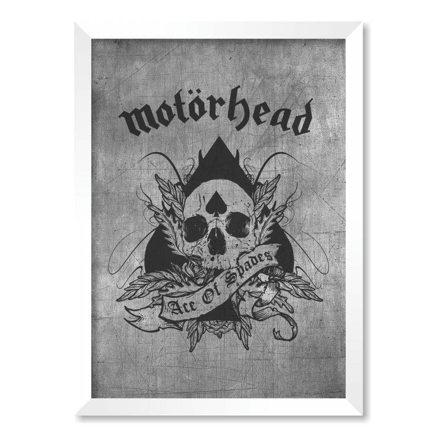 QUADRO MOTORHEAD  - Pôster no Quadro
