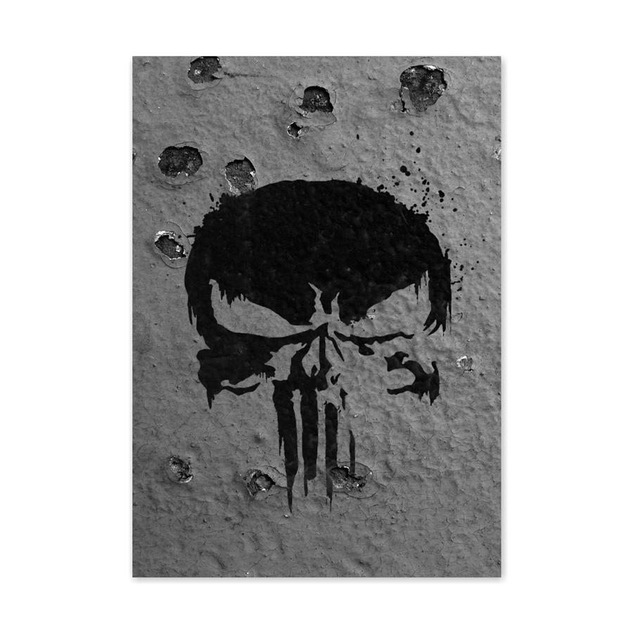 QUADRO O JUSTICEIRO | THE PUNISHER  - Pôster no Quadro