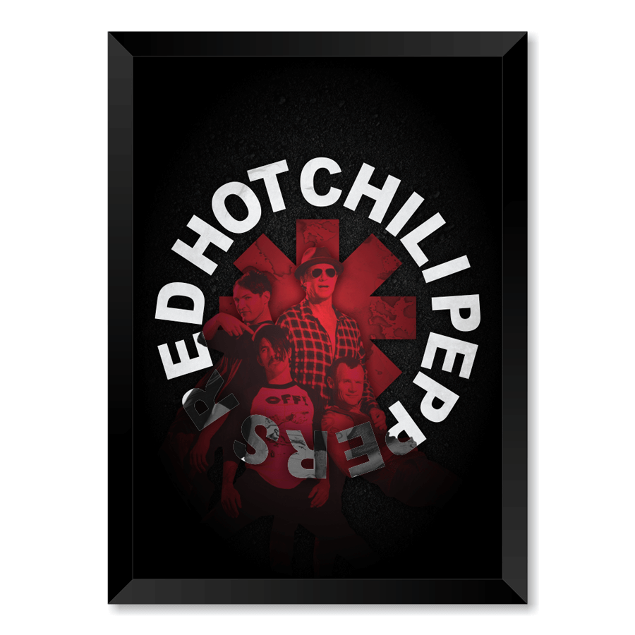 QUADRO RED HOT CHILI PEPPERS  - Pôster no Quadro