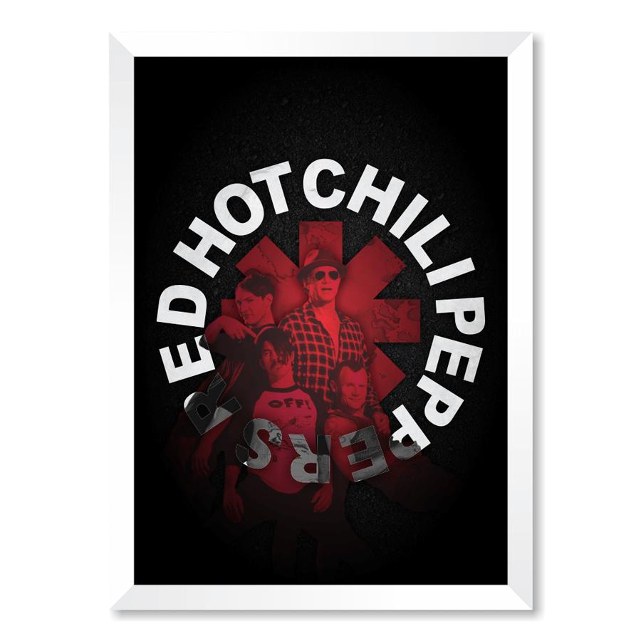 QUADRO RED HOT CHILI PEPPERS  - Pôster no Quadro