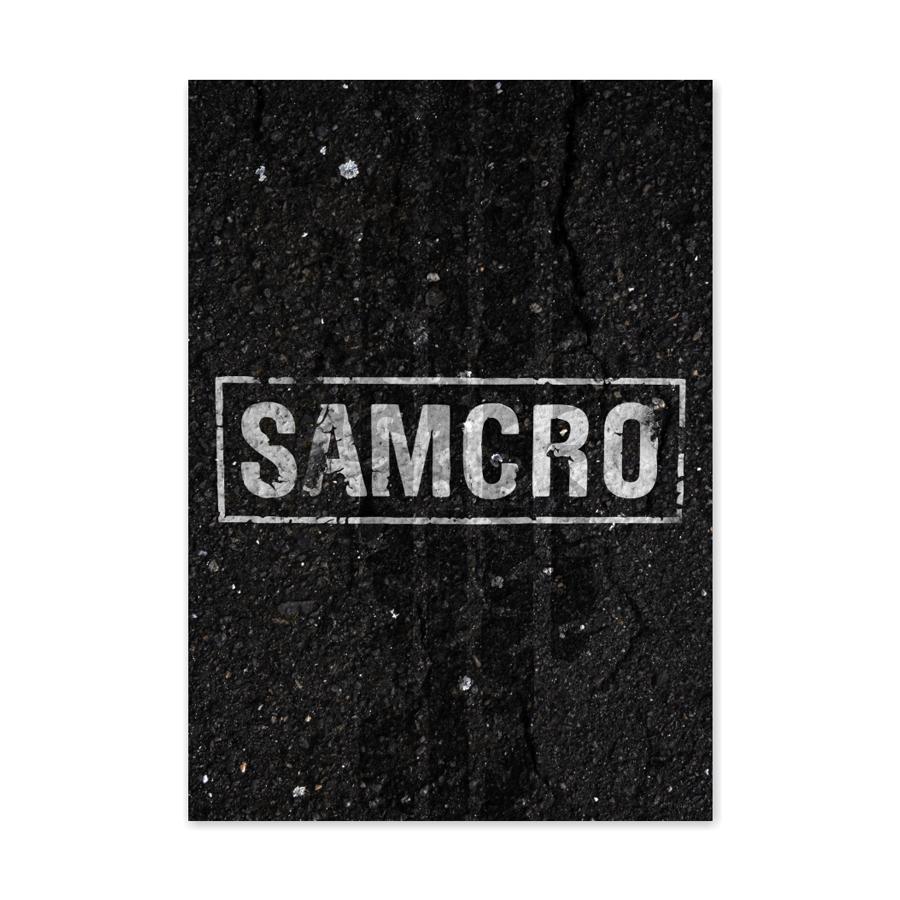 QUADRO SAMCRO  - Pôster no Quadro