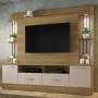 Estante Home para TV até 65 Polegadas Afeto JCM Móveis Noronha Off White