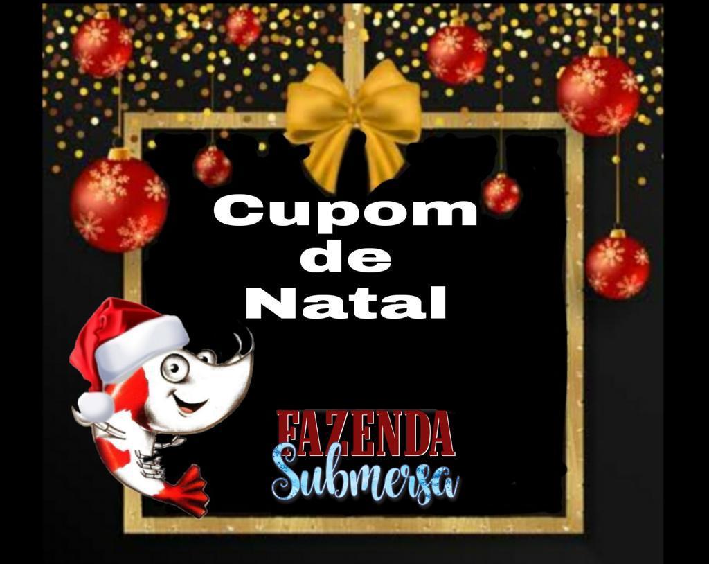 CUPOM DE NATAL - FAZENDA SUBMERSA