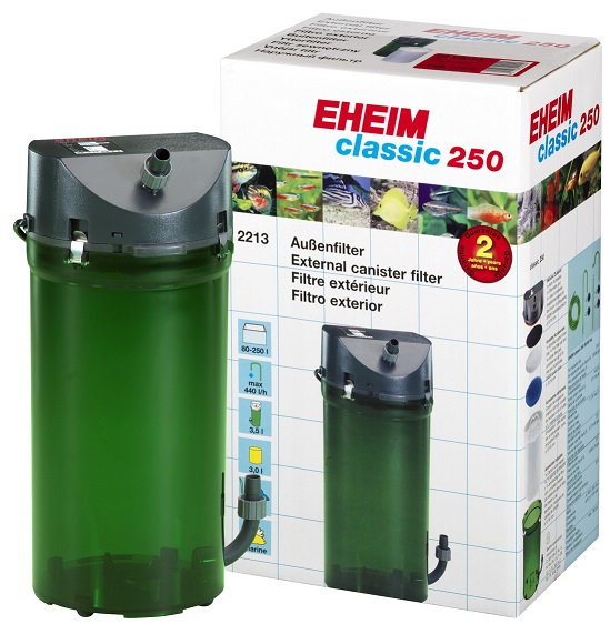 Filtro Canister Classic 250 440lh Eheim