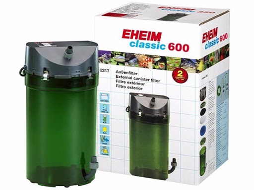 Filtro Canister Classic 600 1000lh Eheim