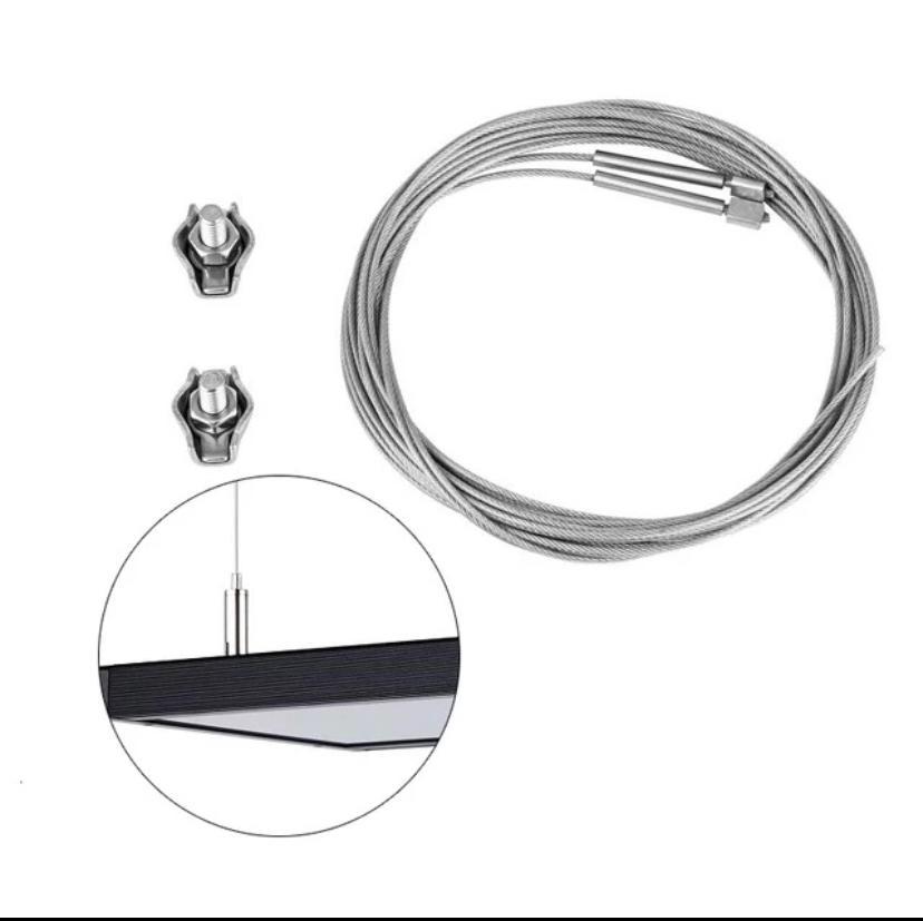 Kit pendant simples para 1 Luminária Wrgb II