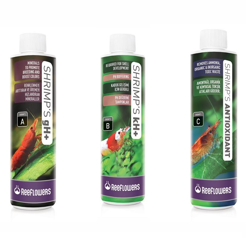 Kit Reeflowers Shrimp´s A,B,C
