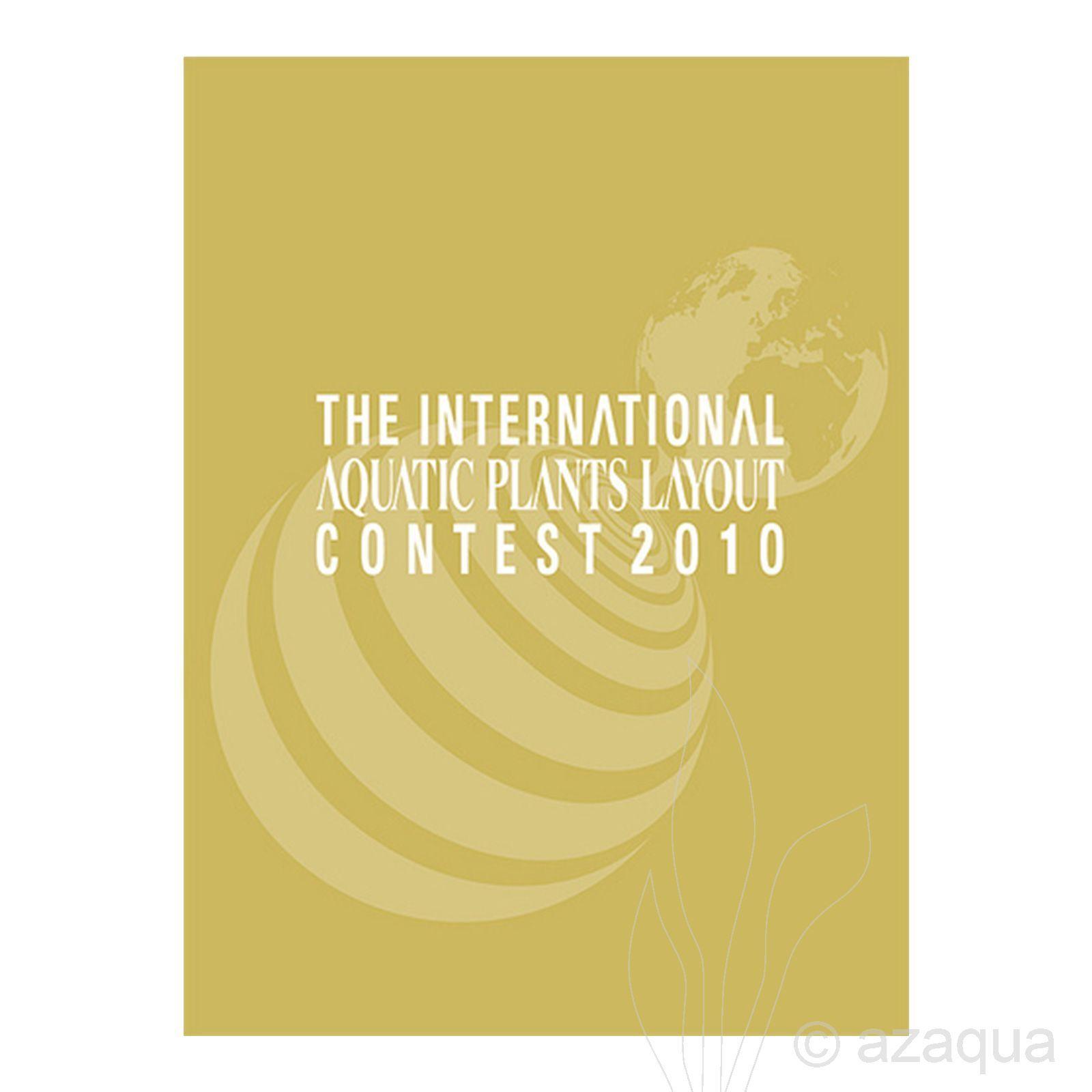 Livro The International Aquatic Plants Layout Contest Book 2010