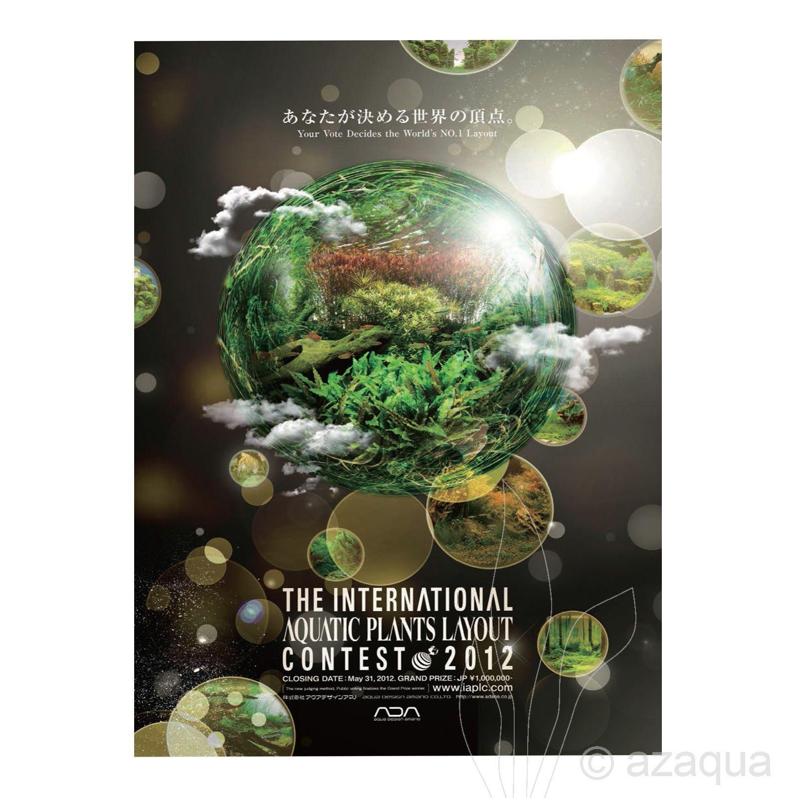 Livro The International Aquatic Plants Layout Contest Book 2012