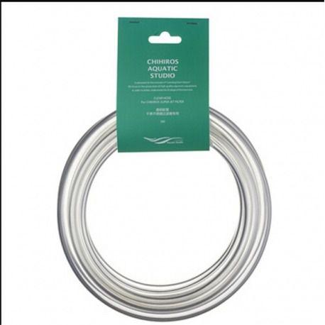 Mangueira cristal pvc flexível 12/16mm
