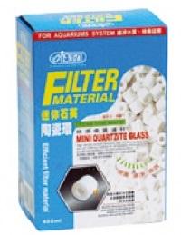 Mídia Cerâmica Filtragem Quartzite Glass Mini 400ml Ista