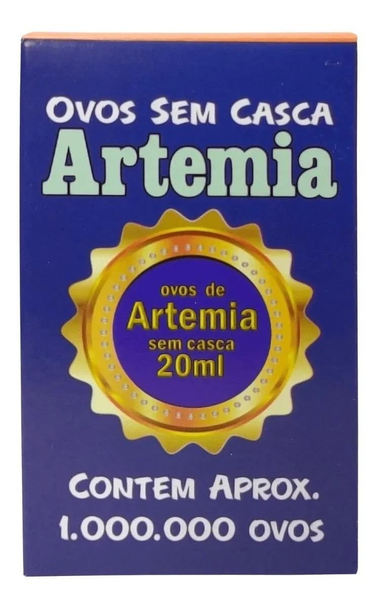Ovos de Artêmia Sem Casca 20ml Maramar Pet