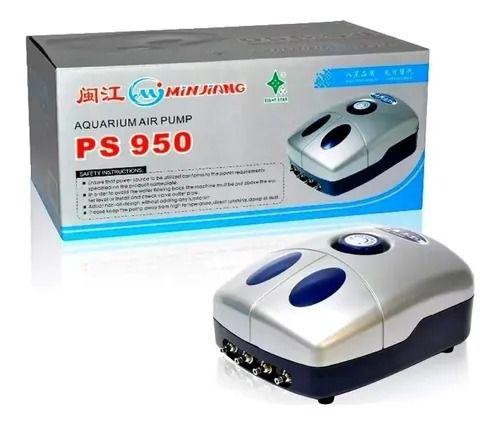 PS-950-COMPRESSOR DE AR 1.000LH 4 SAÍDAS 10W 127V