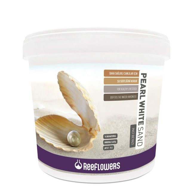 Pearl White Sand 1-1.5mm Reeflowers