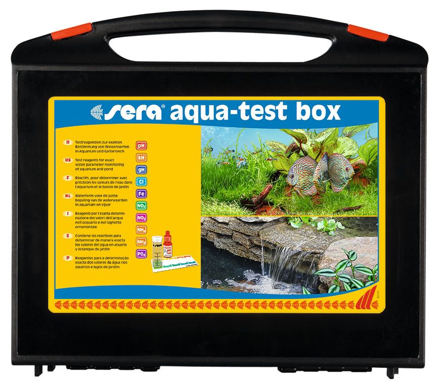 Sera Maleta Aqua Test Box