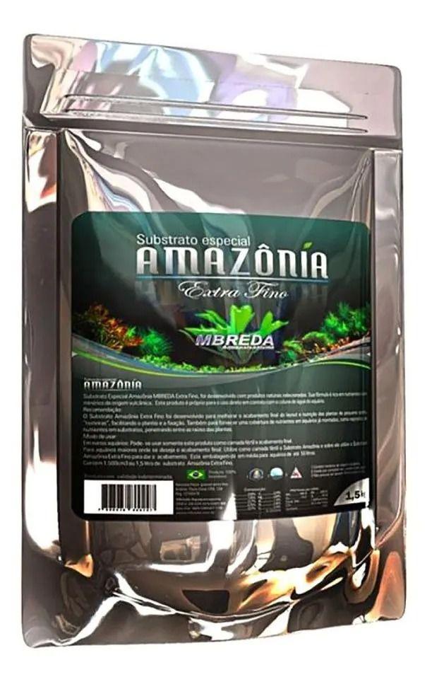 Substrato Amazônia  Extra fino 1,5Kg
