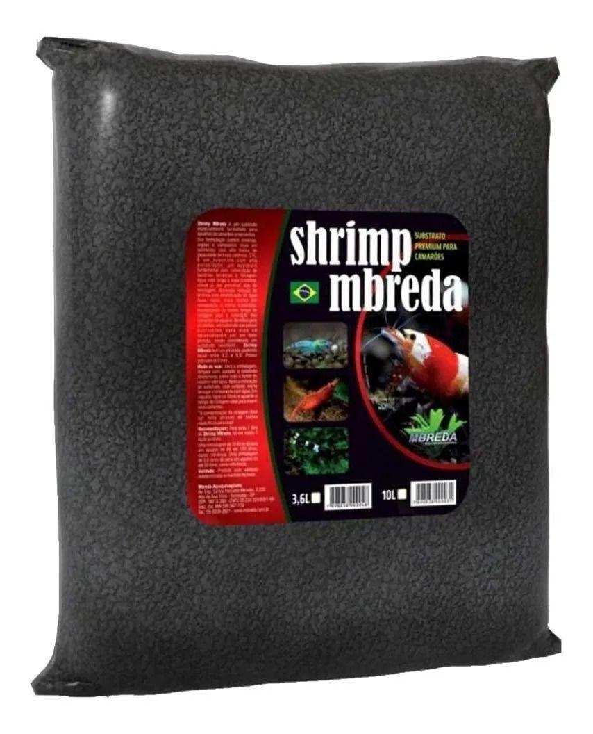 Substrato Shrimp Camarões 10litros