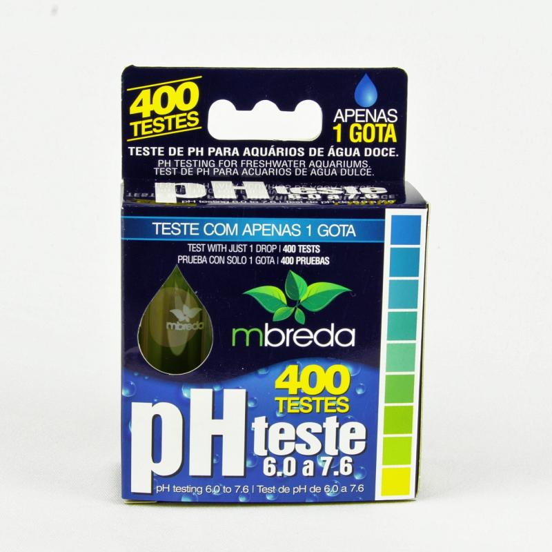 Teste de pH Mbreda