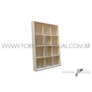 Bandeja Marfim Pequena para Conjuntos - Especial 22.5x33x3.5