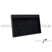 Bandeja Preta Pequena para Pulseiras - 19x29x3