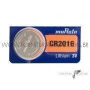 Bateria CR2016 Murata/Sony - (Valor unitário)