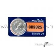 Bateria CR2025 Murata/Sony - (Valor unitário)