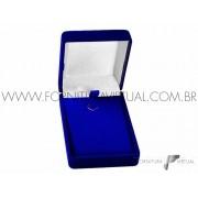 Caixinha de veludo Azul Gargantilha - 77130