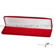 Caixinha de Veludo Vermelha para Pulseiras -  44313