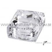 Caixinha/Estojo Linha Acrílico - Diamantado corte H