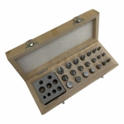 Conjunto Cortador de Discos com Caixa de Madeira - Importado