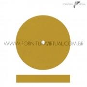 Disco abrasivo de silicone - Amarelo Escuro Reto 7912
