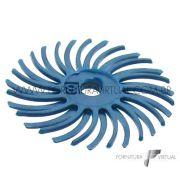 Disco Habras Azul Escuro 24mm - Grão 120