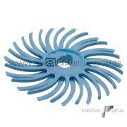 Disco Habras Azul Claro 24mm - Grão 400