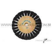 Escova Rotativa de Crina nº20 - Clemara