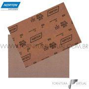 Folha de Lixa Norton No-Fil A275 Canadense