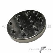 Graniteira para afiação de perloir