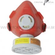 Respirador 1/4 Facial para 01 Filtro VO/GA - Proteplus - 411,0004