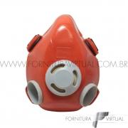 Respirador Semi Facial para 02 Filtros - Proteplus - 411,0005