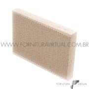 Tijolo Refratário Colméia - Honeycomb 13,5cm