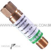 Válvula Corta Fogo Maçarico - Oxigênio