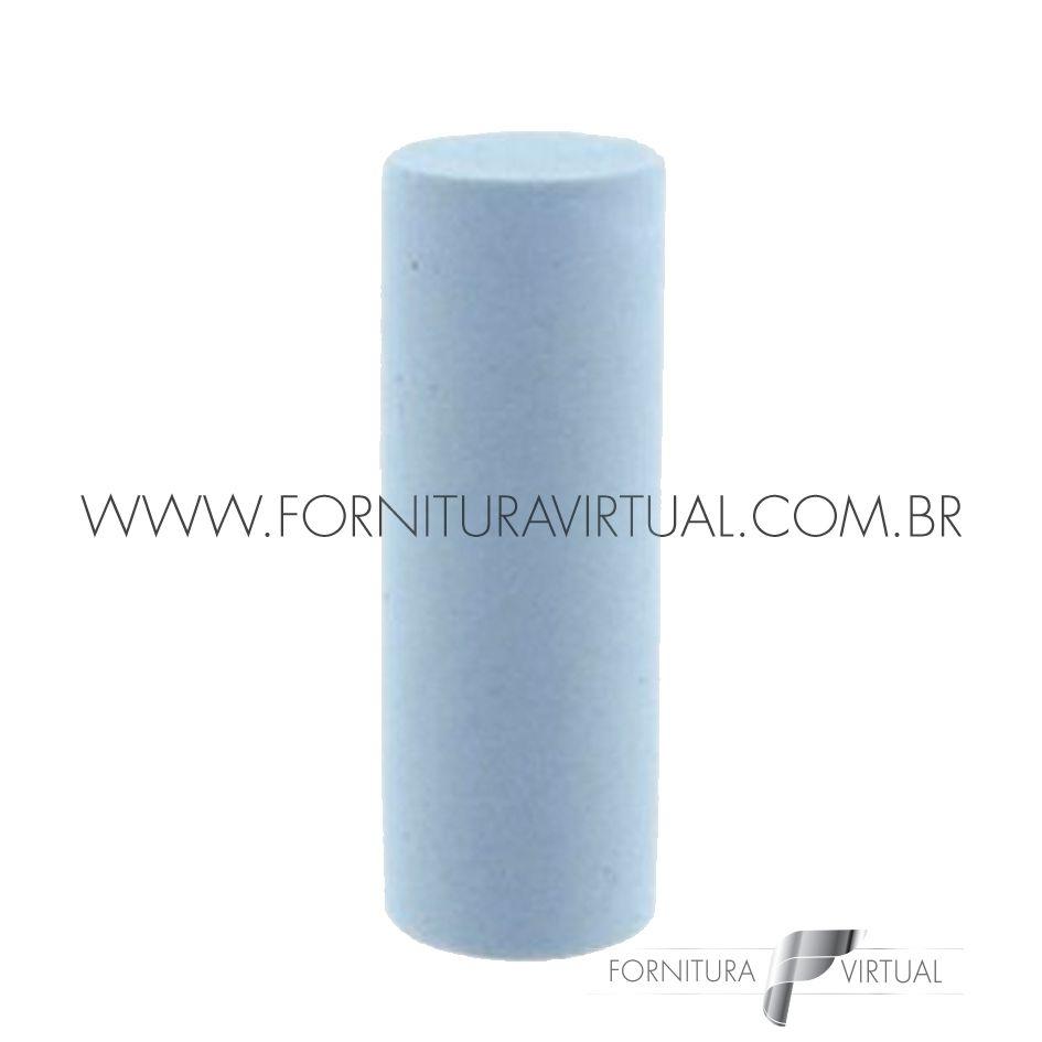 Abrasivo de silicone - Azul Cilindro