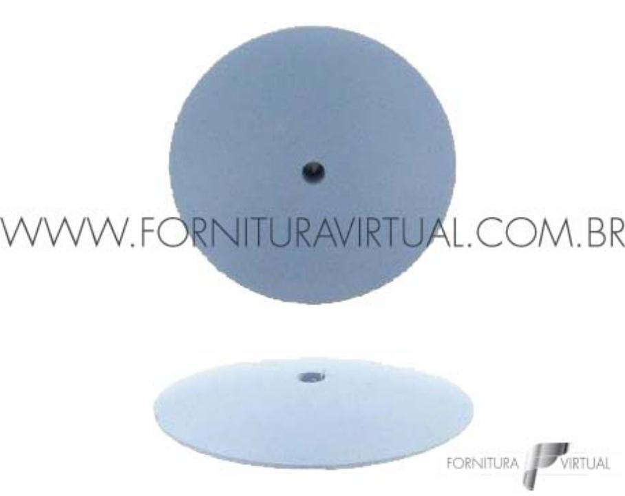 Disco abrasivo de silicone - Azul Faca 7210