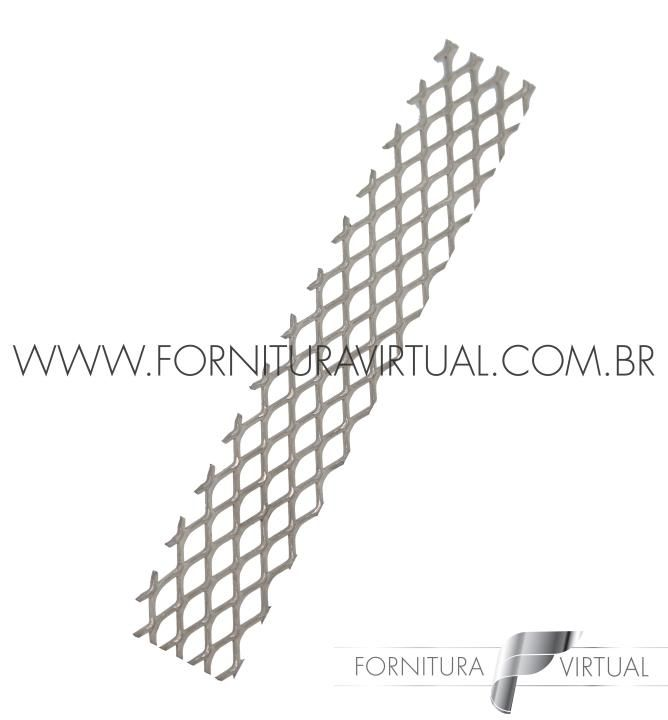 Anôdo de titânio platinado para banhos - 12cm x 2cm